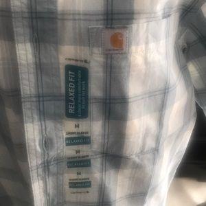 Carhartt Shirts - Men's Carhartt size Medium button up shirt NWT